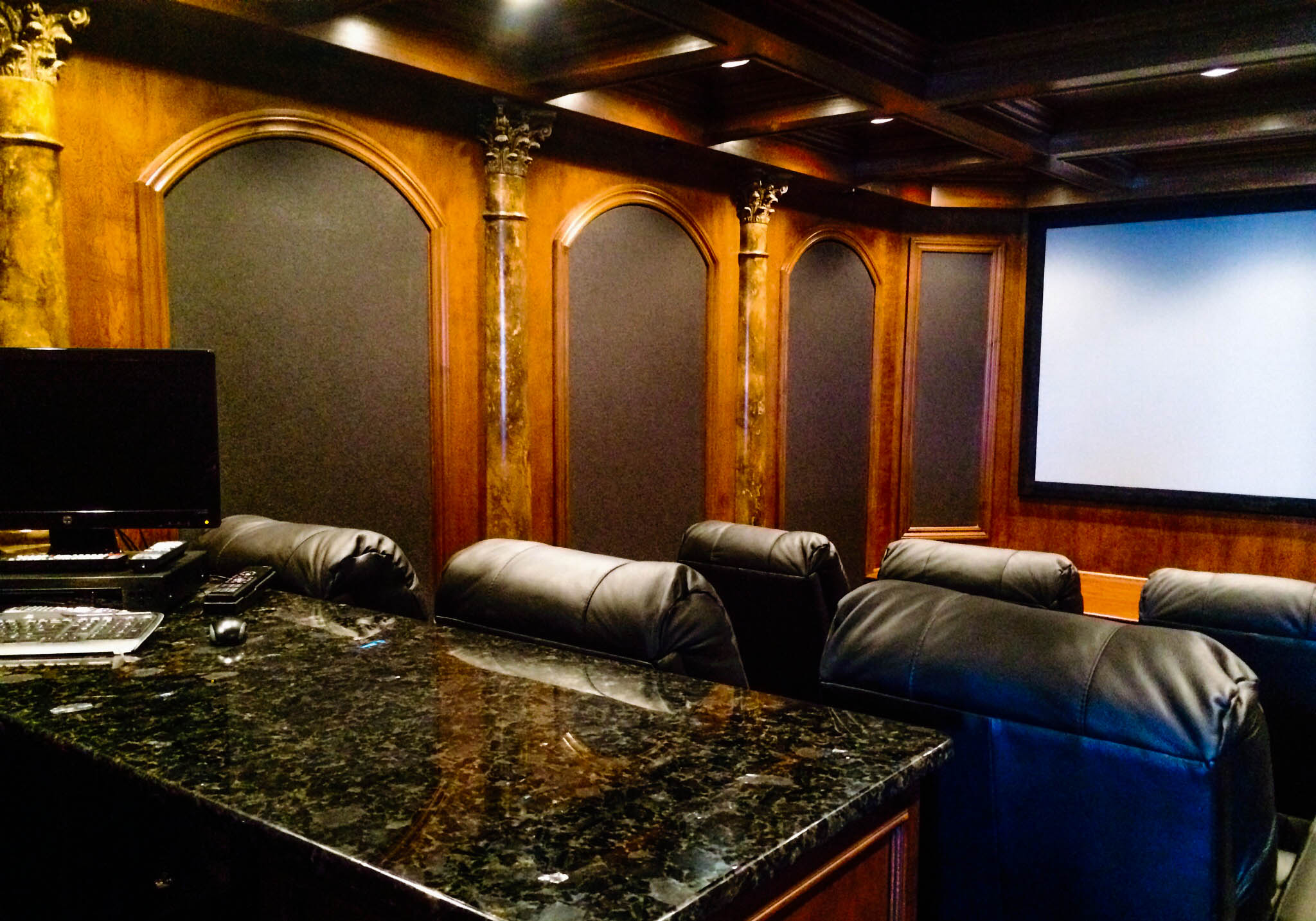Northville Home Theater Room 2