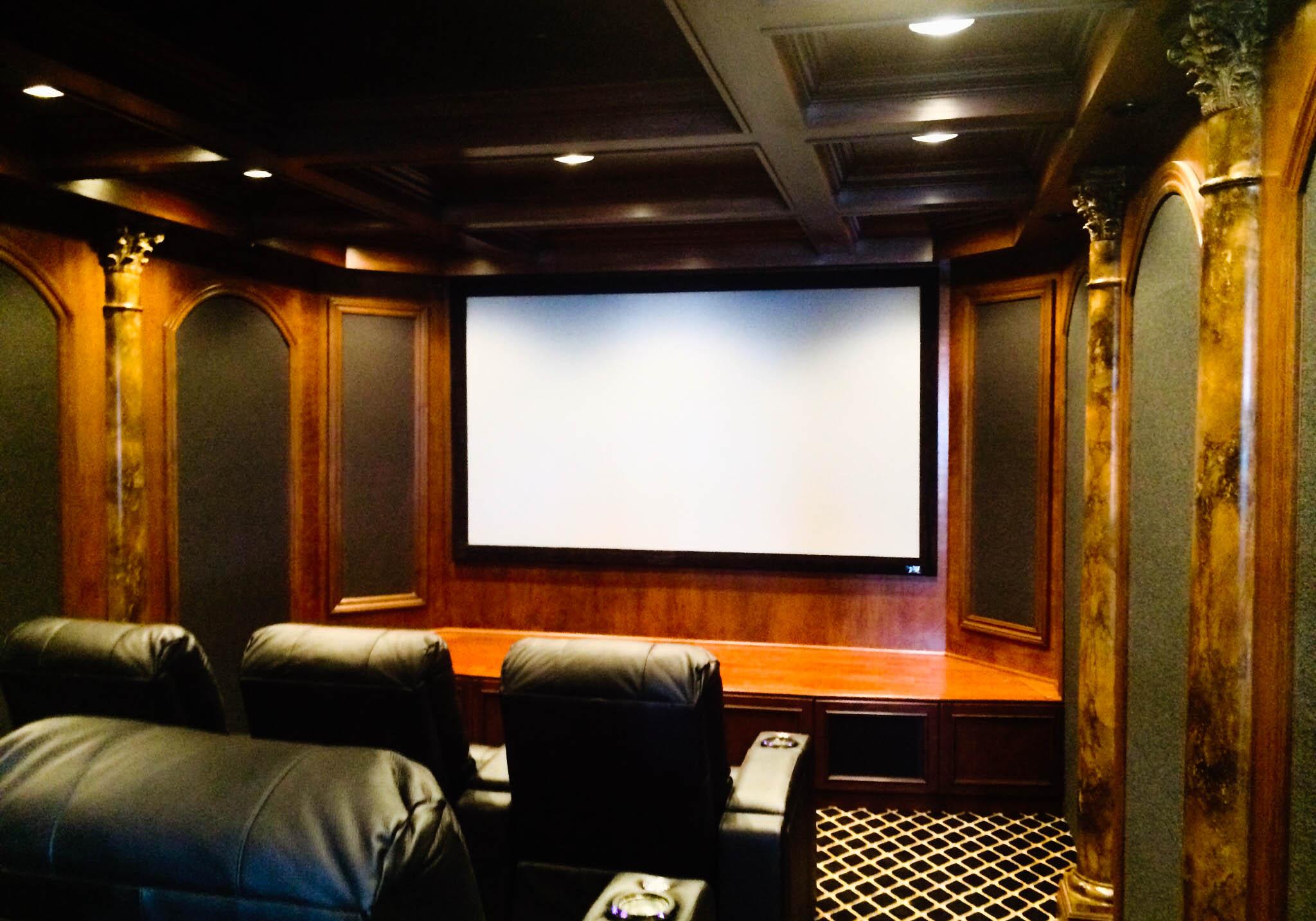syntronic av » blog archive northville home theater room
